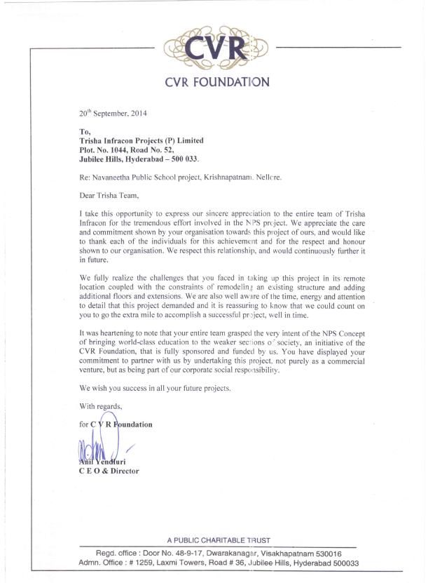 CVR-Letter